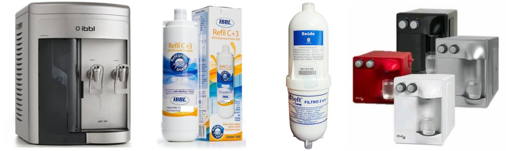 Purificador e Refil IBBL e Soft Everest a venda