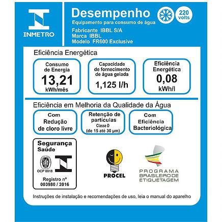 Consumo de energia do IBBL FR600 Exclusive