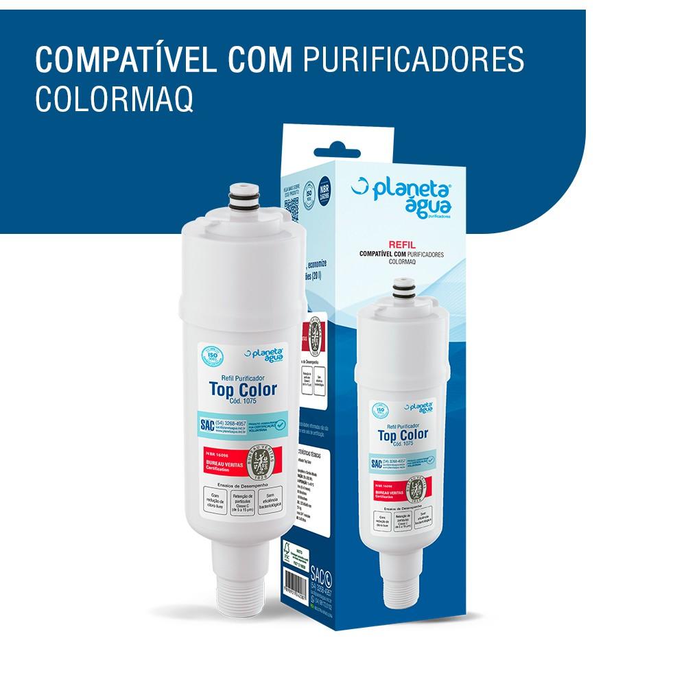 Refil Filtro Colormaq para Purificador de Água compatibilidade