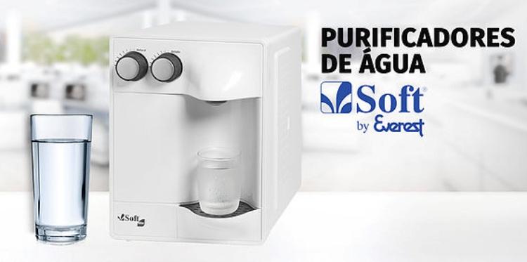 Economize utilizando purificador de água Soft!